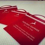 Custom designed bags for Von Maur