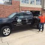 Custom truck signs for Wheeler Fence Company in the Quad Cities