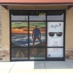 Custom window sigs for Maui Jim Sunglasses located in the Quad Cities