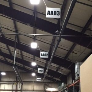 Hanging Agri-Industrial Plastic signs