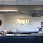 Indoor Lobby Sign for Smith Filter Corporation in Moline, IL