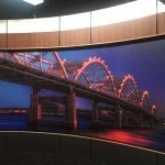 Media room background for Adism Marketing in the Quad Cities