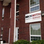 Outdoor building sign for Beckwith Chiropractic Neurology