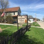 Outdoor Marquee Signs for A Simpler Time (LeClaire, IA)